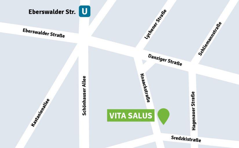 Karte Soziotherapie Berlin Pankow